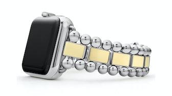 Smart Caviar Stainless Steel 18K Gold Watch Bracelet