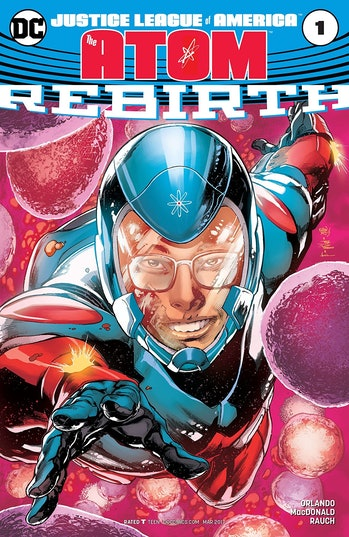 The Atom from DC Comics