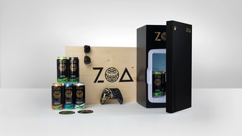 A photo of the PR package from Xbox and ZOA energy.
