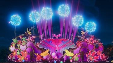 harmonix stage fuser night moth fireworks