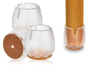 godehone Silicone Furniture Leg Caps (32-Pack)