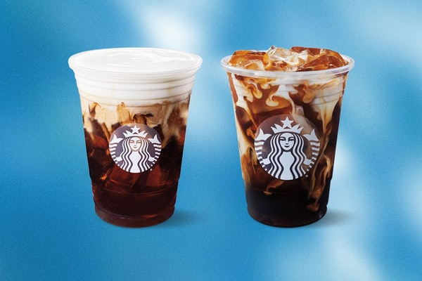 Starbucks' March 2021 free drink offer applies to handcrafted beverages like its Salted Caramel Cream Cold Brew and Vanilla Sweet Cream Cold Brew.