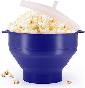KORCCI Silicone Popcorn Popper
