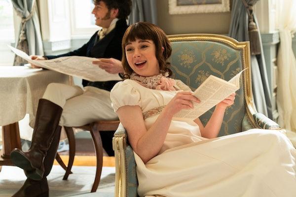 """Claudia Jessie plays Eloise Bridgerton in Netflix's """"Bridgerton"""""""