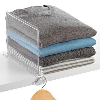 Clear Shelf Divider