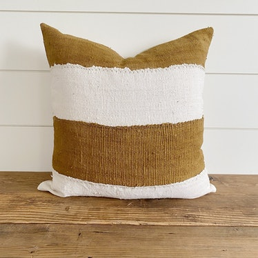 Winnie Authentic Africa Mud Cloth Pillow Cover