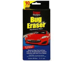 Stoner Car Care Bug Eraser Wipes (10 Count)
