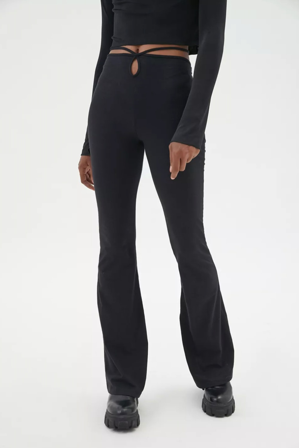 Motel Sekar Strappy Tie-Back Flare Pant