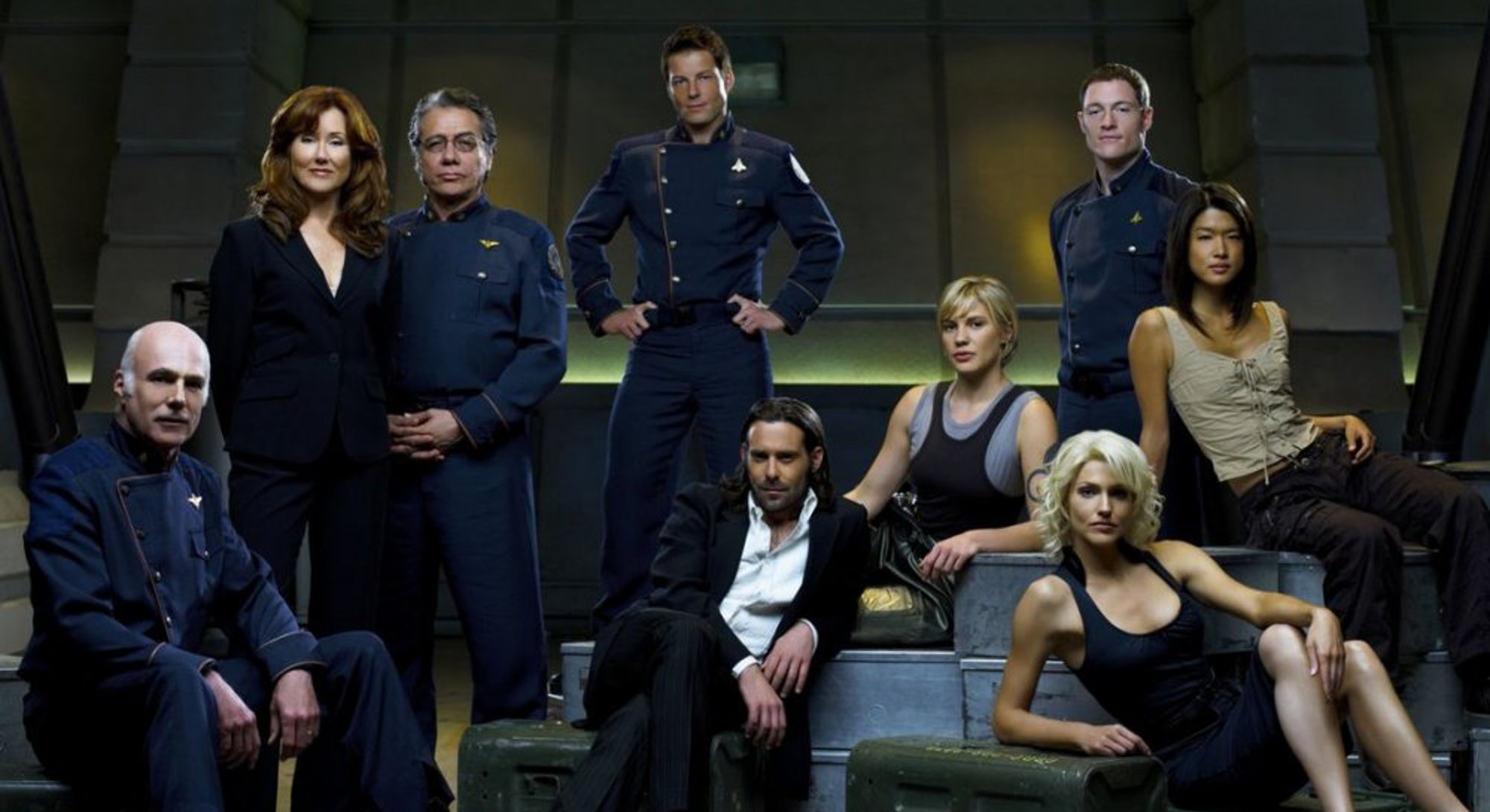 cast of characters from battlestar galactica
