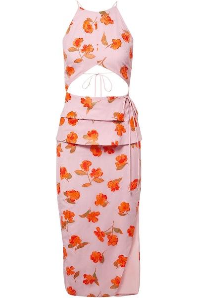 Julietta Cutout Midi Dress