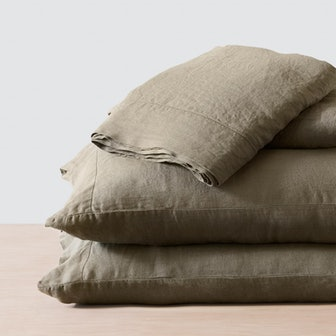 Stonewashed Linen Bed Sets - Queen