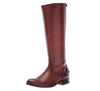 Frye Melissa Button Back-Zip Boot