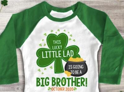 ZoeysAttic St. Patrick's Day Big Brother T-shirt