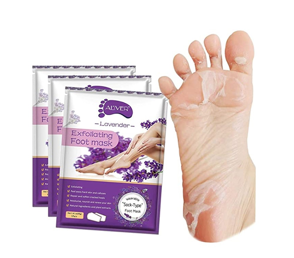 ALIVER Foot Peel Mask (3-Pack)