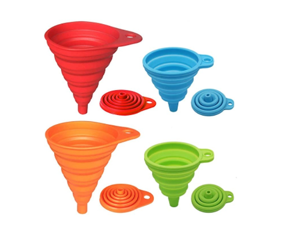 KongNai Silicone Collapsible Funnel Set