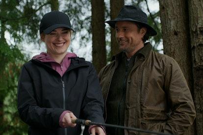 Alexandra Breckenridge and Martin Henderson star in 'Virgin River.' Photo via Netflix