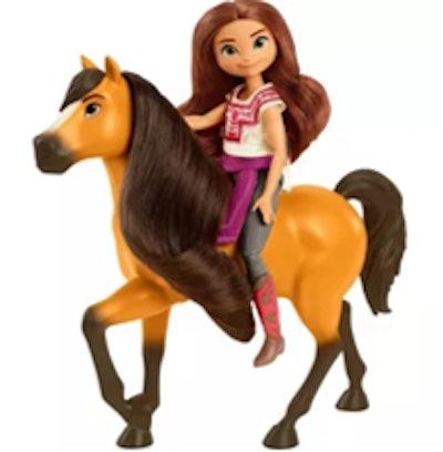 Spirit Untamed Lucky & Spirit Doll and Horse Figures