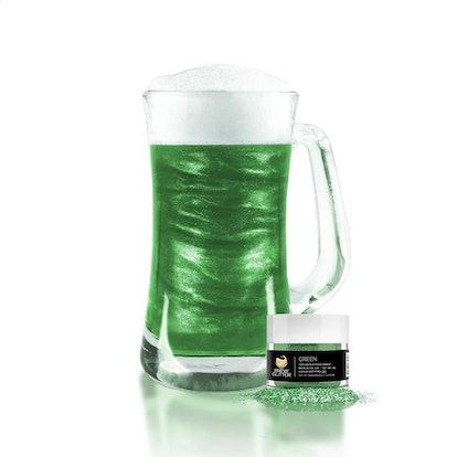 Green Food Grade Brew Glitter | 4 Gram Jar