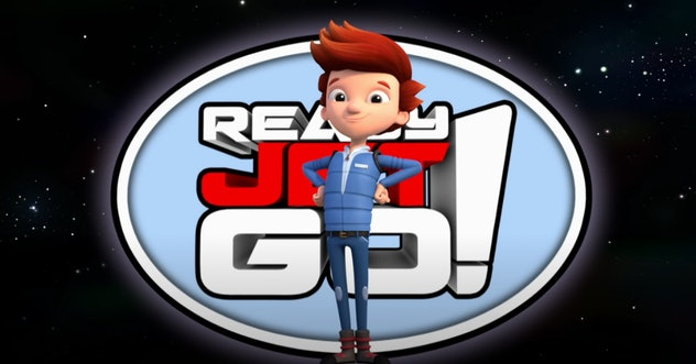 'Ready Jet Go' is about an alien named Jet living on Earth.