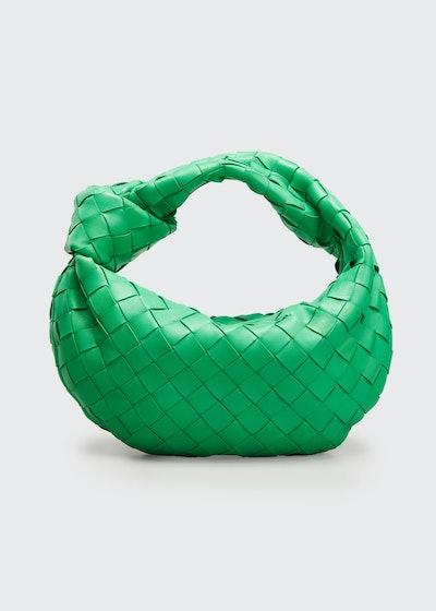 Jodi Mini Intrecciato Knot Hobo Bag
