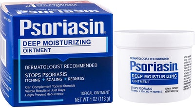 PSORIASIN Deep Moisturizing Ointment, 4 Oz. (2-Pack)