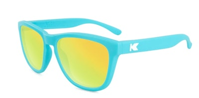 Kids Matte Blue/Yellow Sunglasses