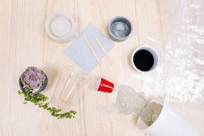 Hand Poured Cement Workshop