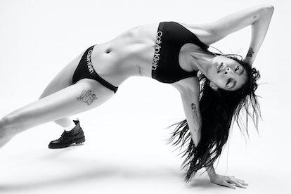 Rina Sawayama for Calvin Klein's Spring 2021 Campaign.