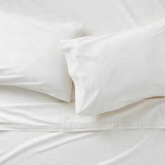 Mellow Pearl Organic Cotton Queen Sheet Set
