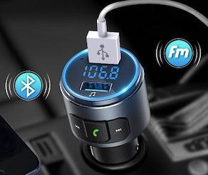 VicTsing Bluetooth Car Transmitter