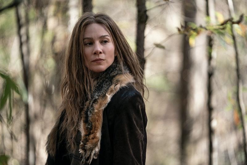 Lynn Collins plays Leah on 'The Walking Dead' via the AMC press site