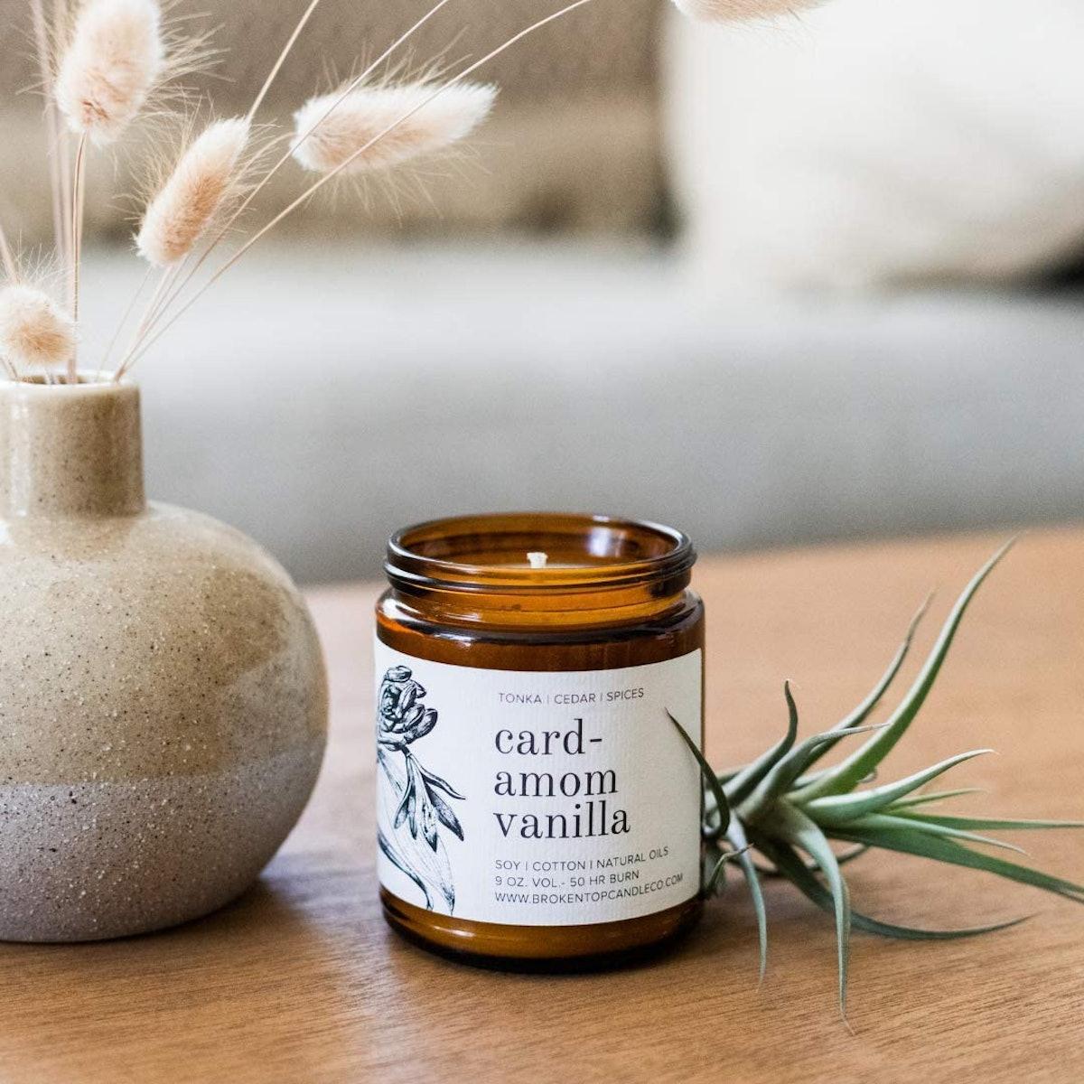 Broken Top Cardamom Vanilla Candle, 9 Oz.