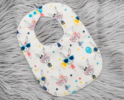 Little Bunnies Baby Bib