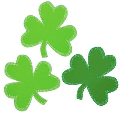 Large Shamrock St. Patrick's Day Confetti