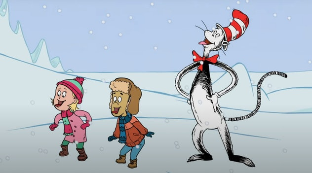 'The Cat in the Hat Knows A Lot About That' is a series on PBS Kids starring Dr. Seuss characters.