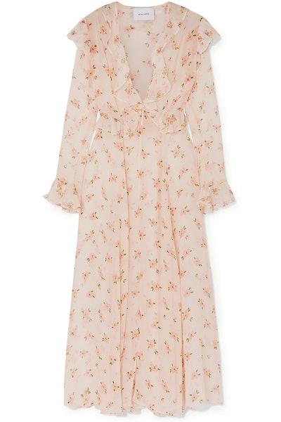 Marlowe Ruffle Floral Dress