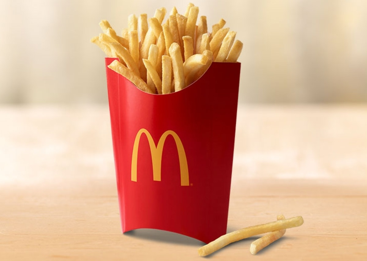 Check out McDonald's free large fries with an app download deal.