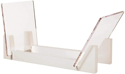 KAIU Wood Stand With Clear Acrylic Ends