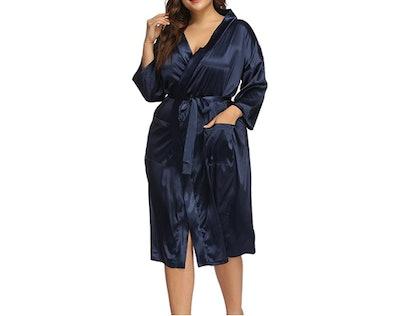 Allegrace Plus Size Kimino Robe