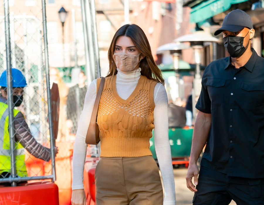 Kendall Jenner is seen in SoHo on November 20, 2020 in New York City.