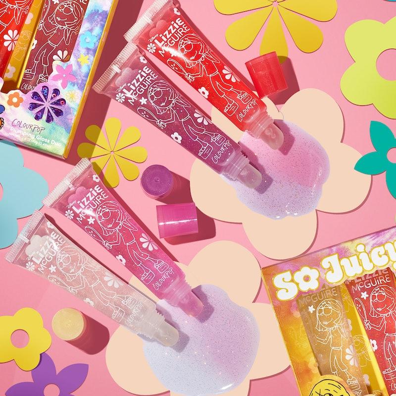 "ColourPop's ""Lizzie McGuire"" makeup collab is so 2000s-inspired."