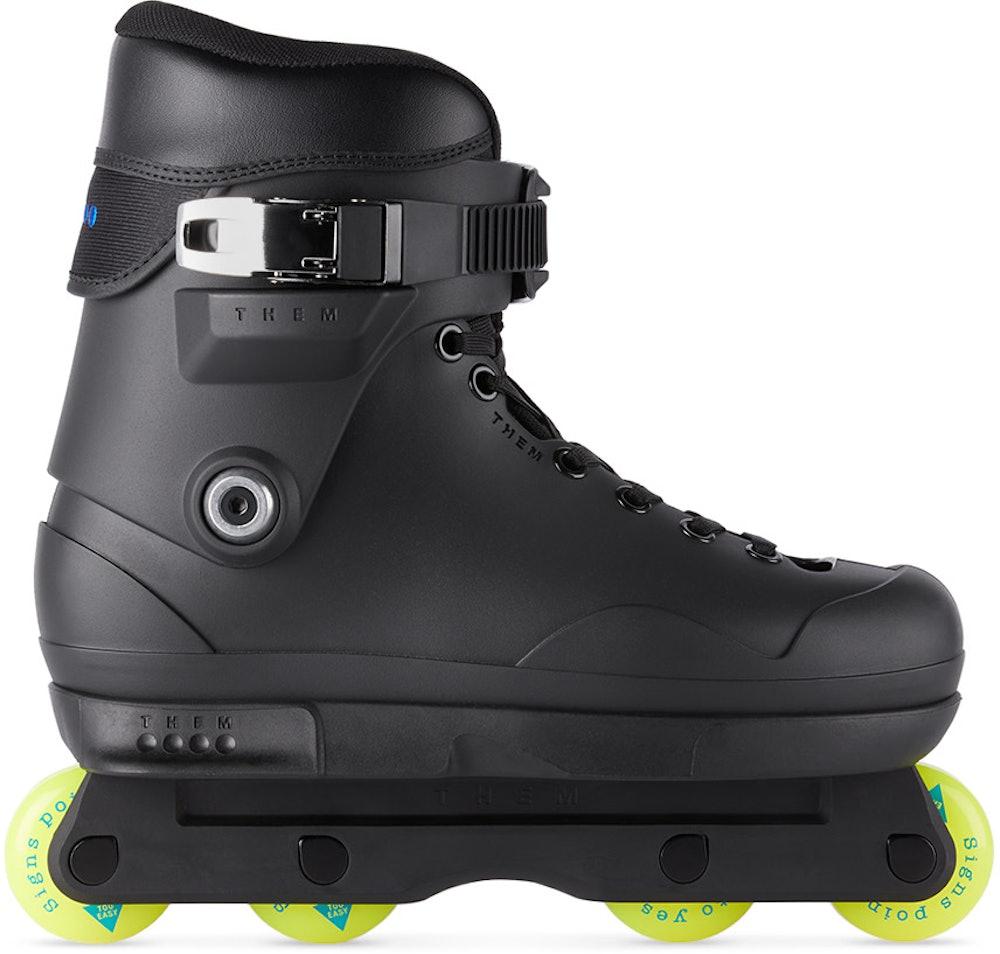 Black Them 909 Too Easy Inline Skates