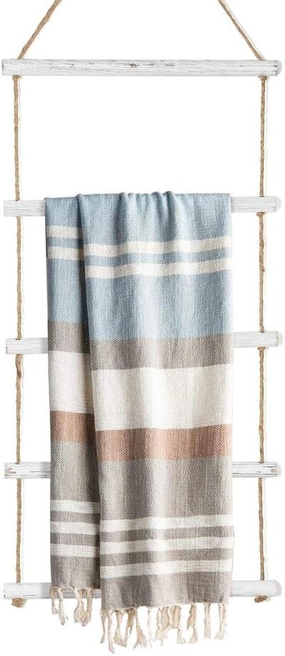DOCMON Hanging Towel Ladder Holder