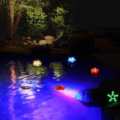 Blufree Floating Pool Light