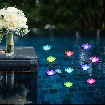LOGUIDE Floating Pool Lights (6-Pack)