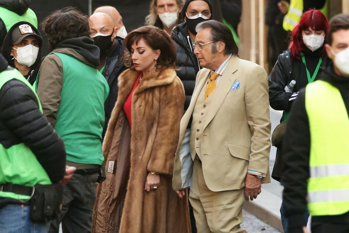 Lady Gaga and Al Pacino