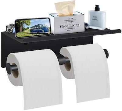 Bjiotun Toilet Paper Holder with Shelf