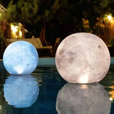 Tially Full Moon Floating Pool Lights (2-Pack)