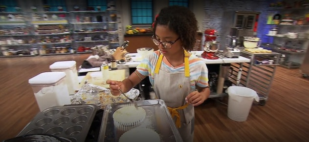 'Kids Baking Championship' features 12 children competing for the title and a cash prize.
