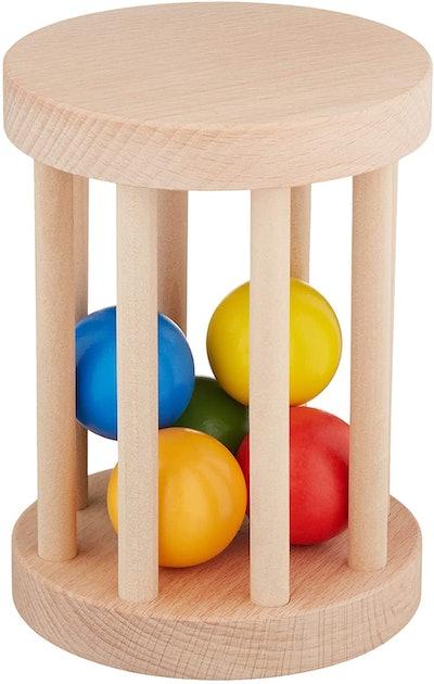 Cutie Pie Toys Montessori Ball Cylinder Rolling Drum